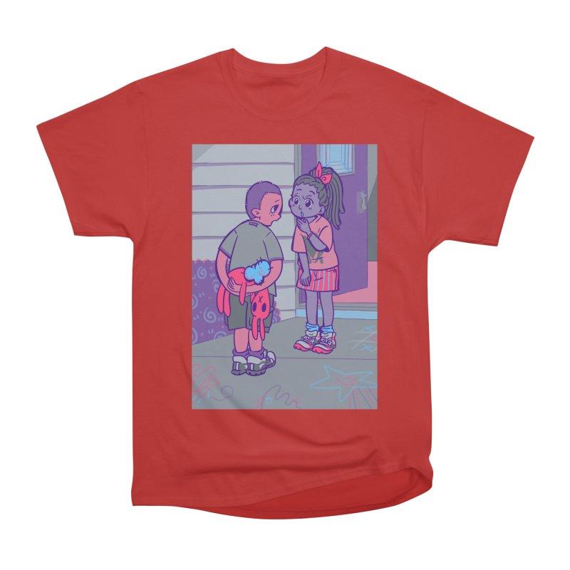 Honesty Card Art Men's Heavyweight T-Shirt by The Spiffai Shop