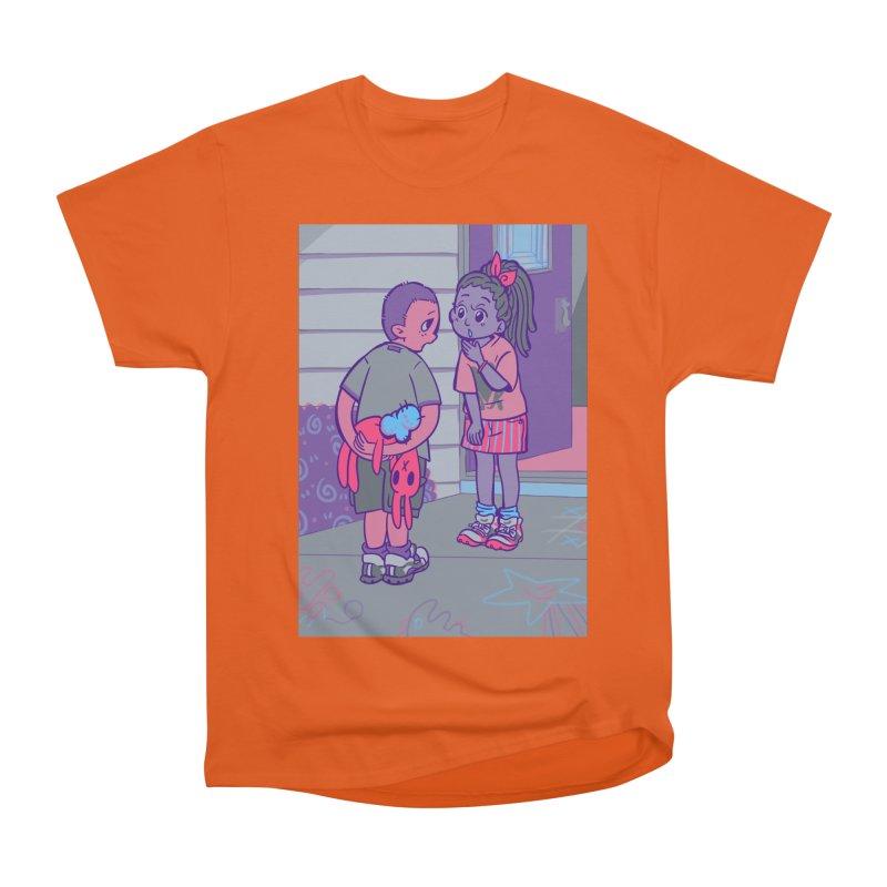 Honesty Card Art Women's Heavyweight Unisex T-Shirt by The Spiffai Shop