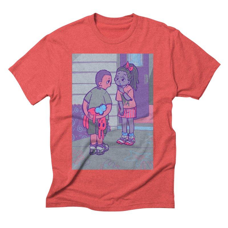 Honesty Card Art Men's Triblend T-Shirt by The Spiffai Shop