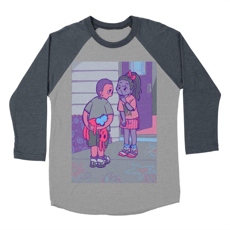 Honesty Card Art Women's Baseball Triblend Longsleeve T-Shirt by The Spiffai Shop