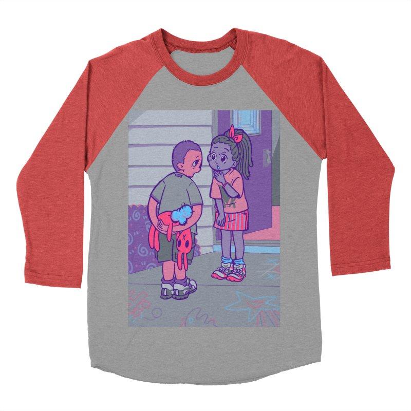 Honesty Card Art Men's Baseball Triblend T-Shirt by The Spiffai Shop