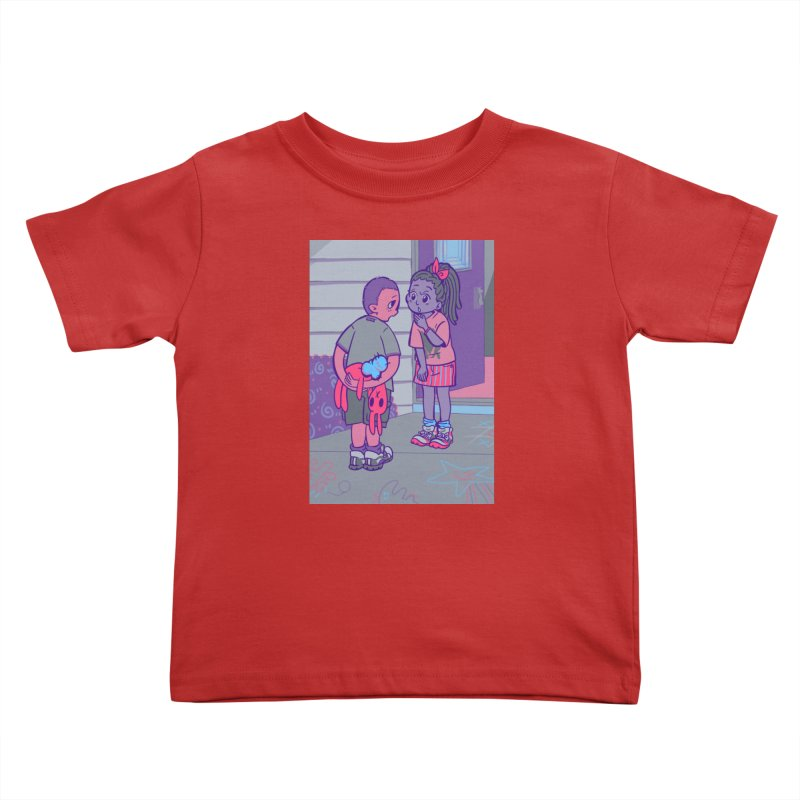 Honesty Card Art Kids Toddler T-Shirt by The Spiffai Shop