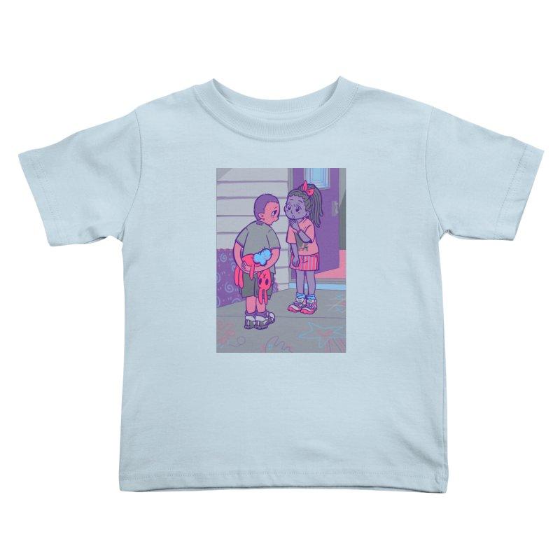 Honesty Card Art Kids Toddler T-Shirt by The Spiffai Shop
