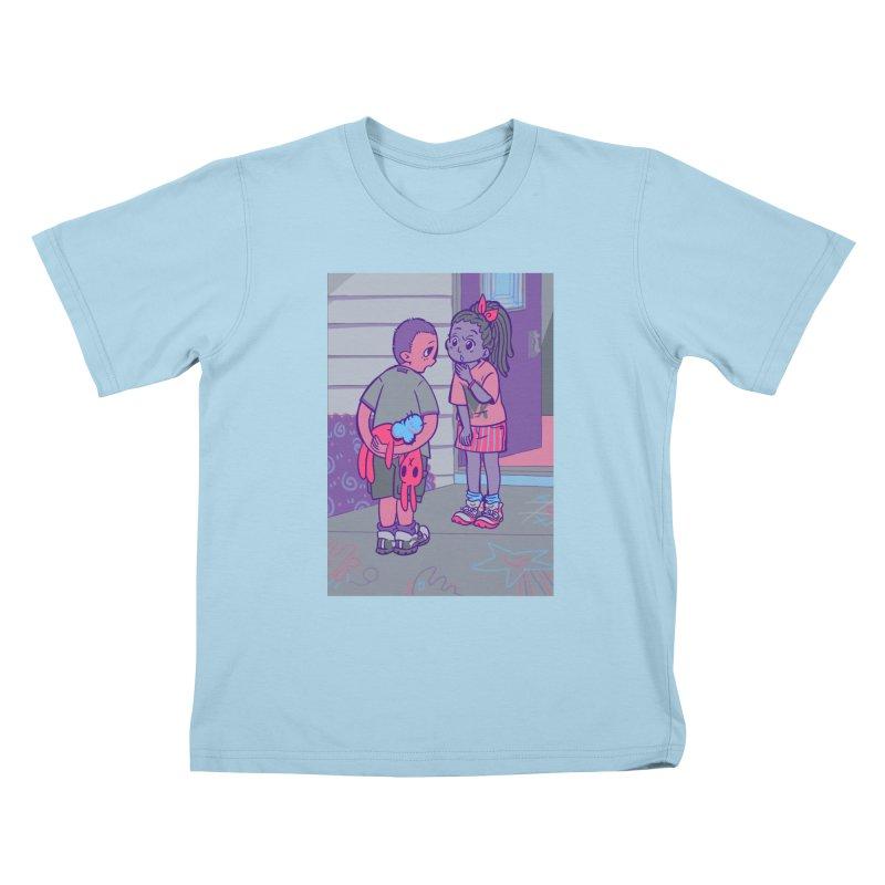 Honesty Card Art Kids T-Shirt by The Spiffai Shop