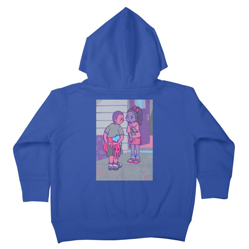 Honesty Card Art Kids Toddler Zip-Up Hoody by The Spiffai Shop
