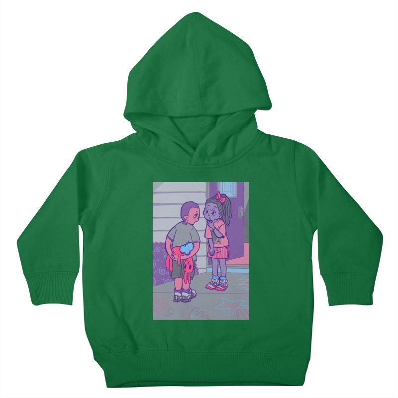 Honesty Card Art Kids Toddler Pullover Hoody by The Spiffai Shop