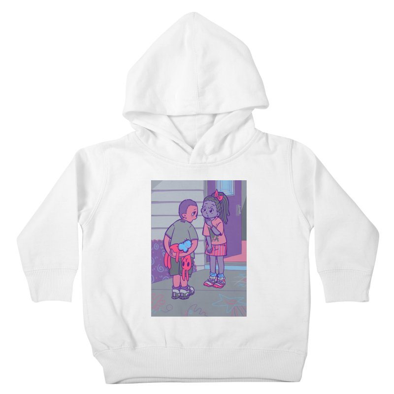 Honesty Card Art Kids Toddler Pullover Hoody by The Spiffai Shop