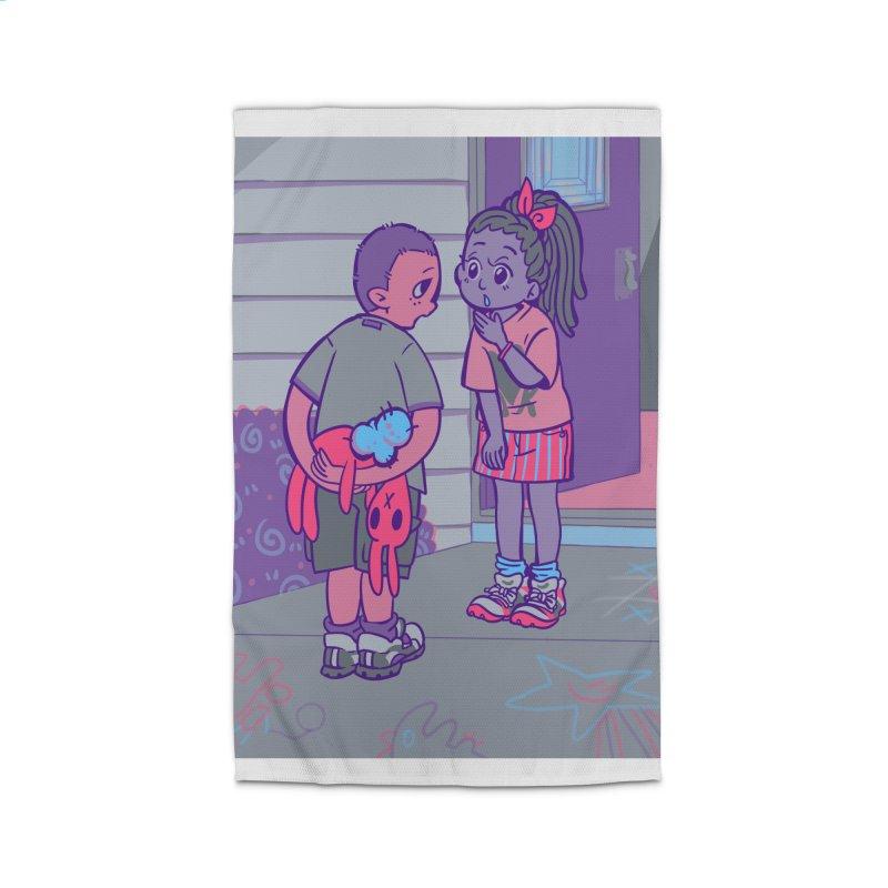 Honesty Card Art Home Rug by The Spiffai Shop