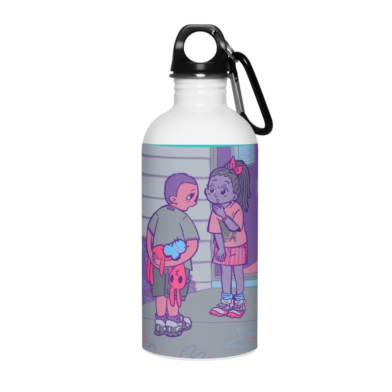 Honesty Card Art Accessories Water Bottle by The Spiffai Shop