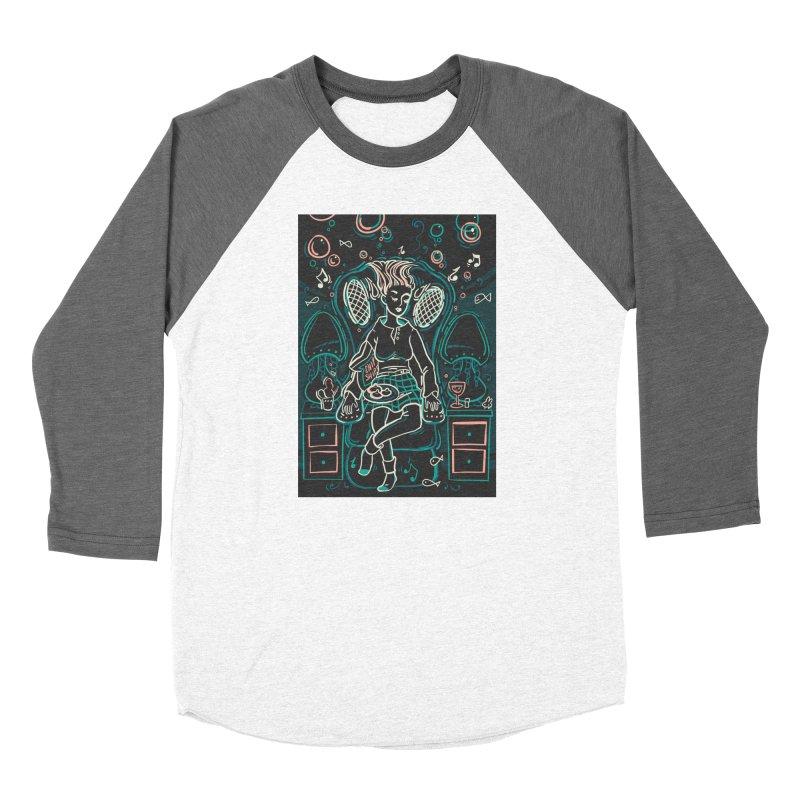 Lazy Man Recliner Card Art Women's Longsleeve T-Shirt by The Spiffai Shop