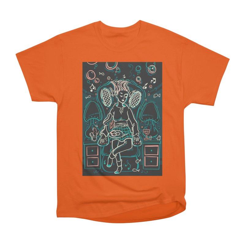 Lazy Man Recliner Card Art Men's Classic T-Shirt by The Spiffai Shop