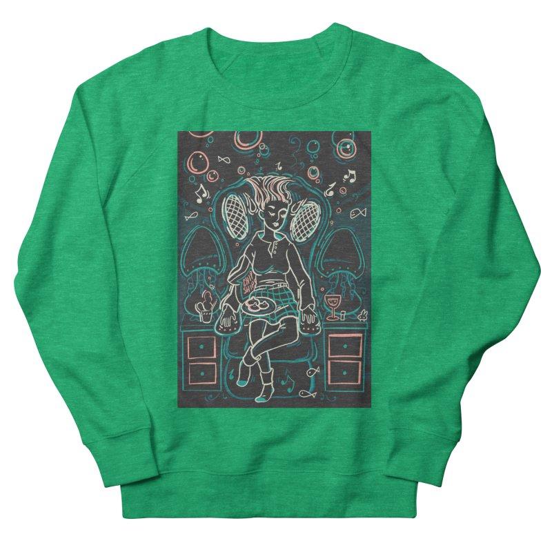 Lazy Man Recliner Card Art Women's Sweatshirt by The Spiffai Shop
