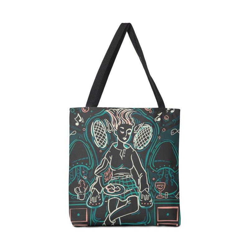 Lazy Man Recliner Card Art Accessories Bag by The Spiffai Shop