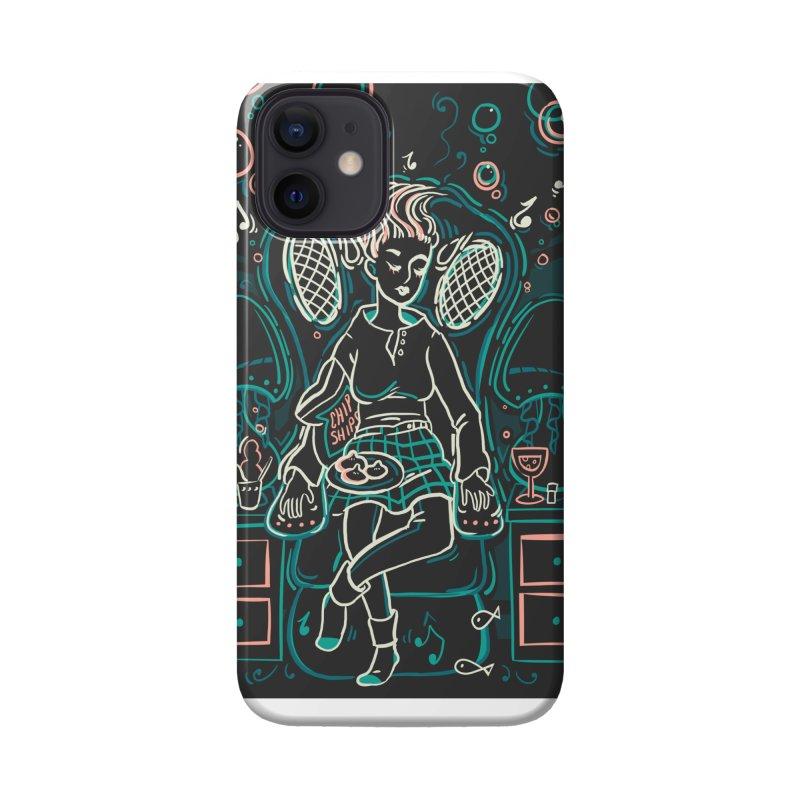 Lazy Man Recliner Card Art Accessories Phone Case by The Spiffai Shop