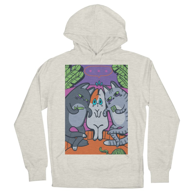 Peer Pressure Card Art Women's French Terry Pullover Hoody by The Spiffai Shop