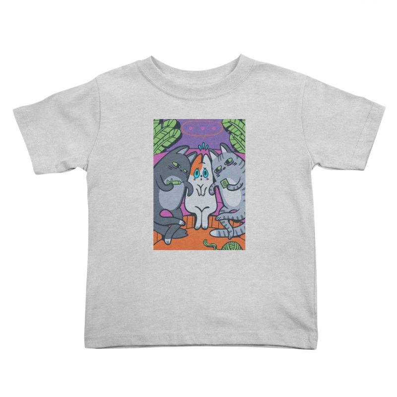 Peer Pressure Card Art Kids Toddler T-Shirt by The Spiffai Shop