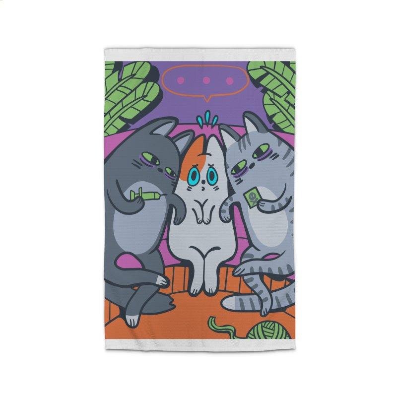 Peer Pressure Card Art Home Rug by The Spiffai Shop