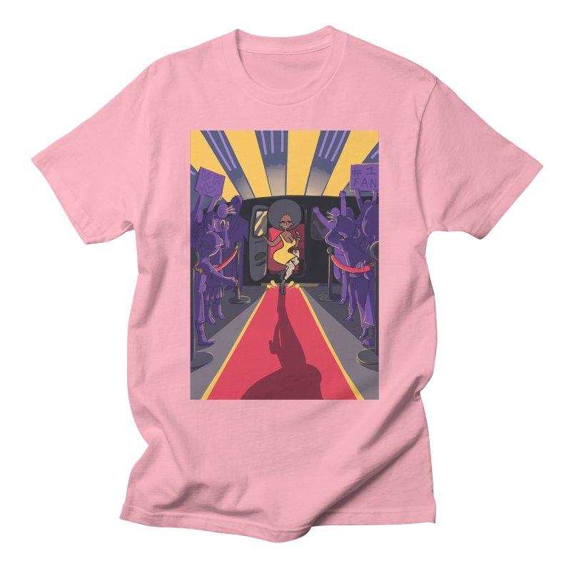 Red Carpet Gala Card Art Men's T-Shirt by The Spiffai Shop