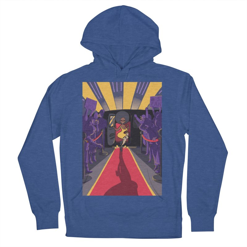 Red Carpet Gala Card Art Women's French Terry Pullover Hoody by The Spiffai Shop