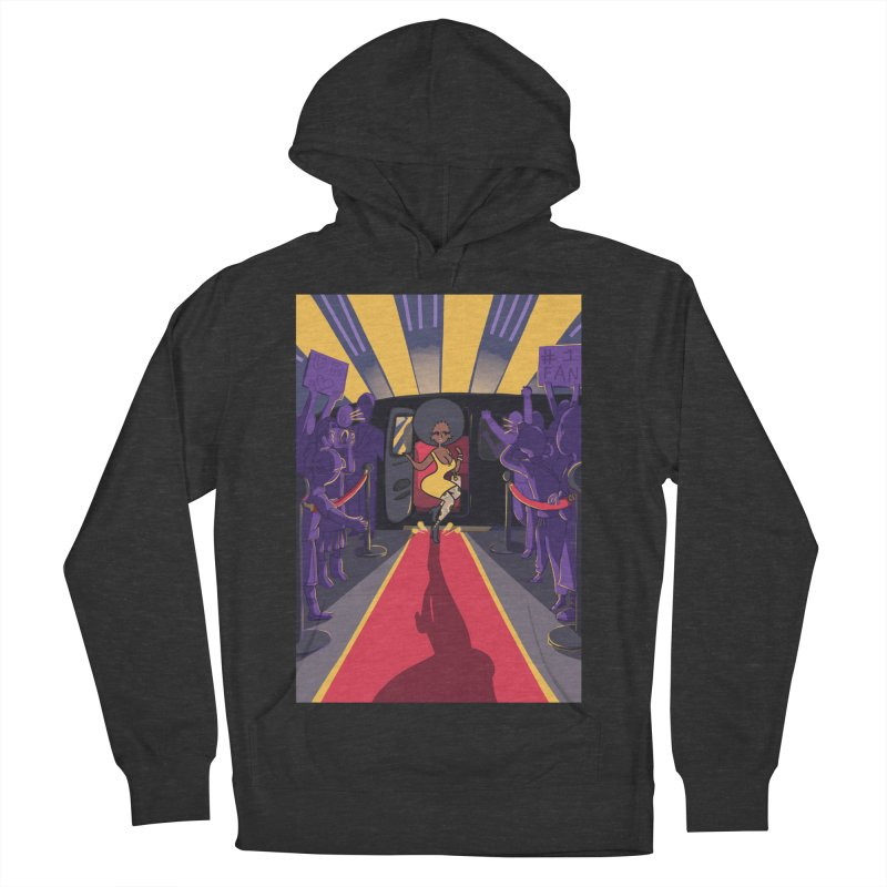 Red Carpet Gala Card Art Men's French Terry Pullover Hoody by The Spiffai Shop