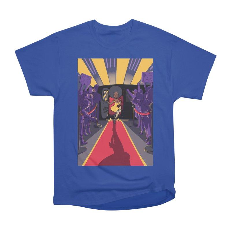 Red Carpet Gala Card Art Women's Heavyweight Unisex T-Shirt by The Spiffai Shop