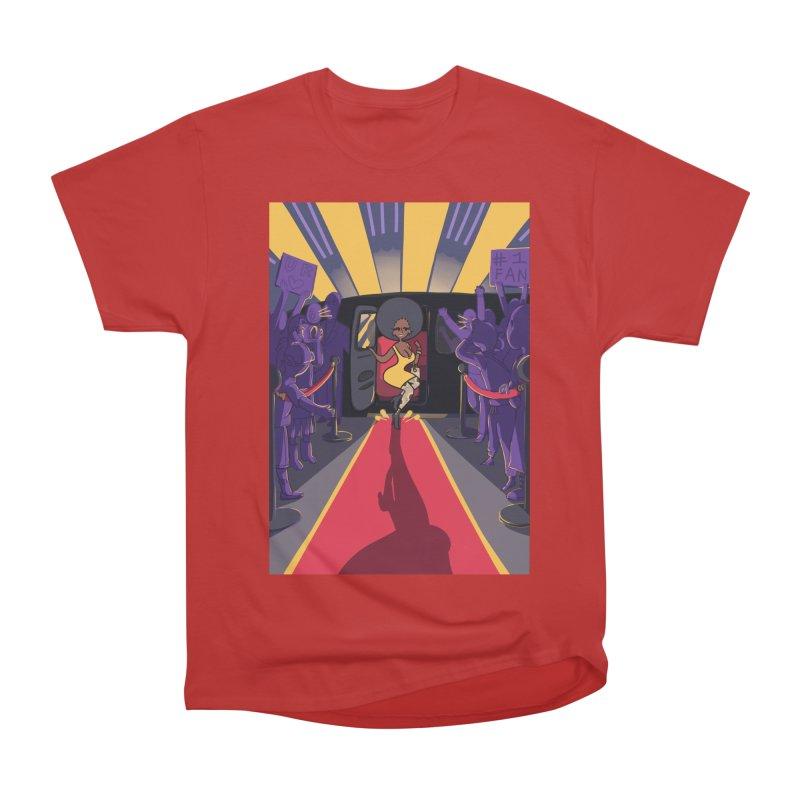 Red Carpet Gala Card Art Men's Heavyweight T-Shirt by The Spiffai Shop