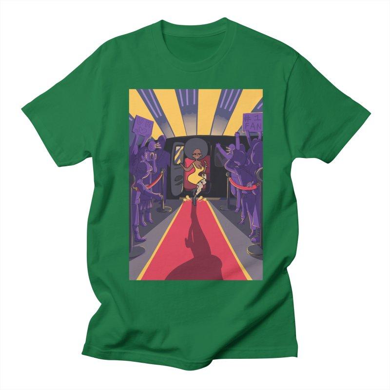 Red Carpet Gala Card Art Women's Regular Unisex T-Shirt by The Spiffai Shop