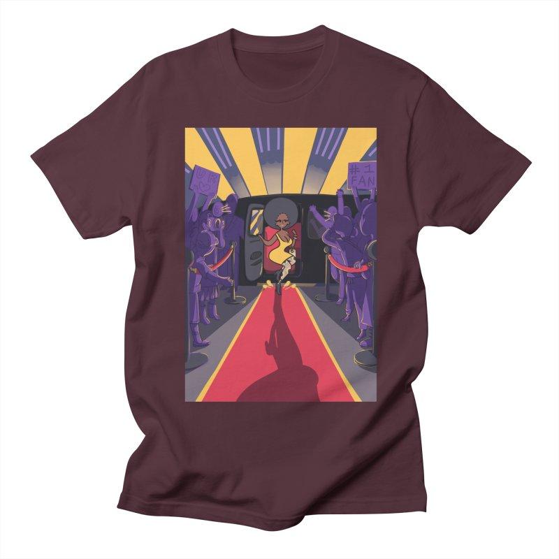 Red Carpet Gala Card Art Men's Regular T-Shirt by The Spiffai Shop
