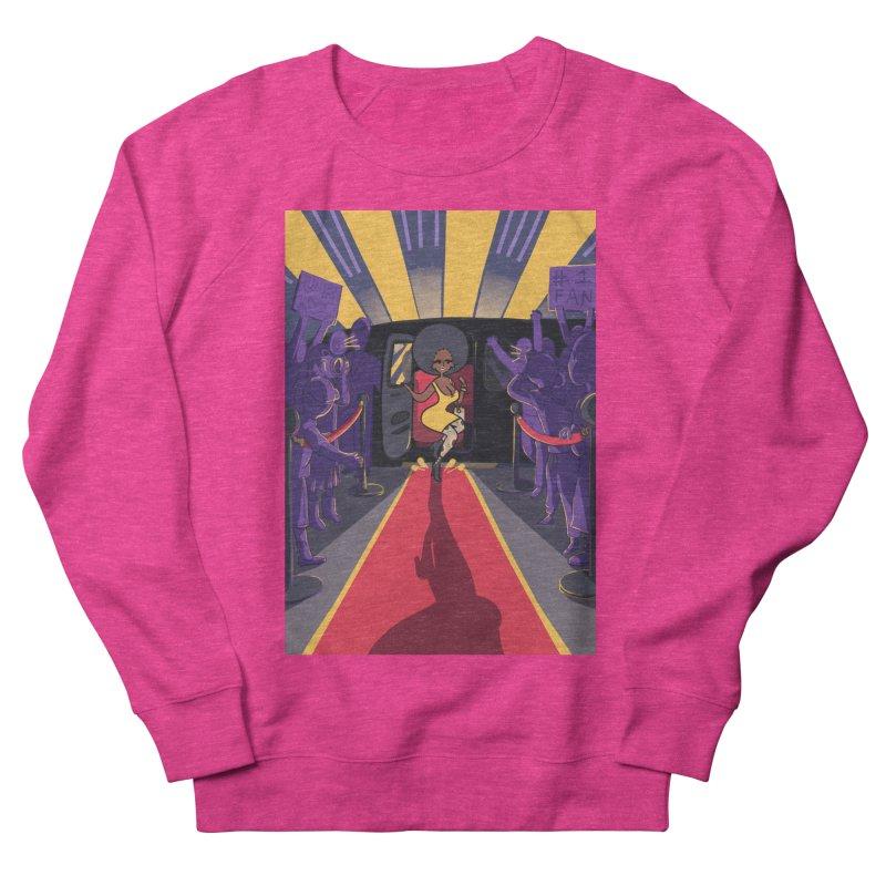 Red Carpet Gala Card Art Women's French Terry Sweatshirt by The Spiffai Shop
