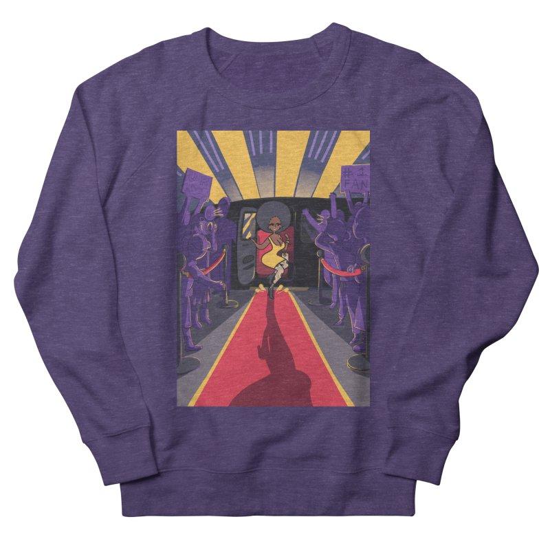 Red Carpet Gala Card Art Men's French Terry Sweatshirt by The Spiffai Shop