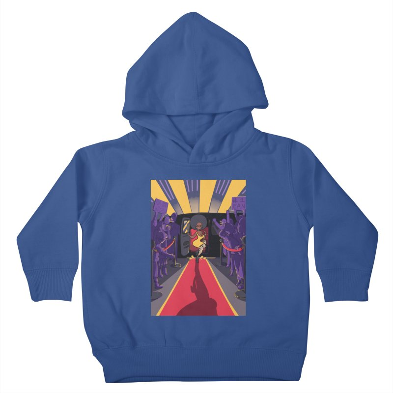 Red Carpet Gala Card Art Kids Toddler Pullover Hoody by The Spiffai Shop