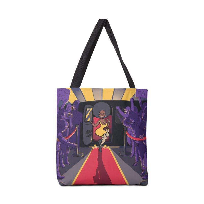 Red Carpet Gala Card Art Accessories Bag by The Spiffai Shop