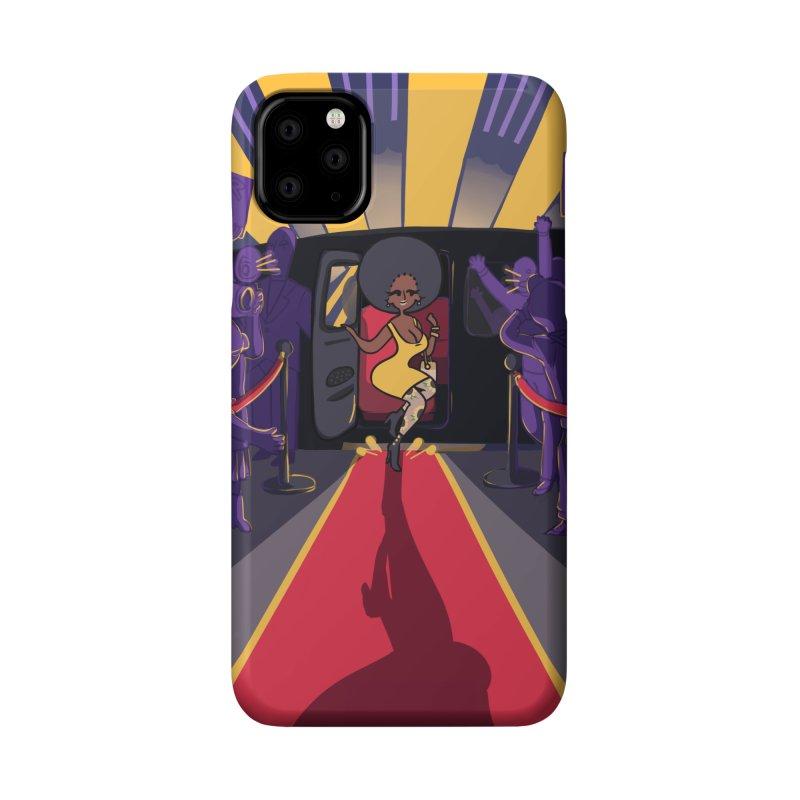 Red Carpet Gala Card Art Accessories Phone Case by The Spiffai Shop