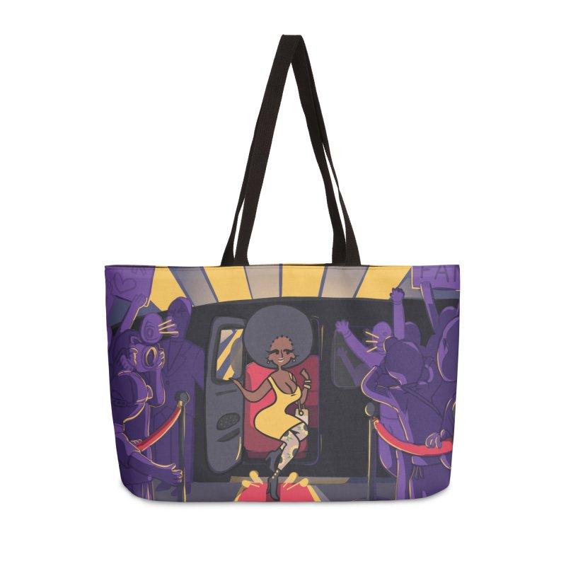 Red Carpet Gala Card Art Accessories Weekender Bag Bag by The Spiffai Shop