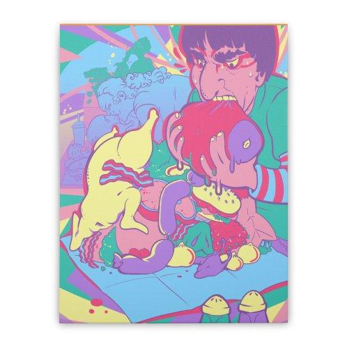 image for On Set of Man VS Meat Card Art
