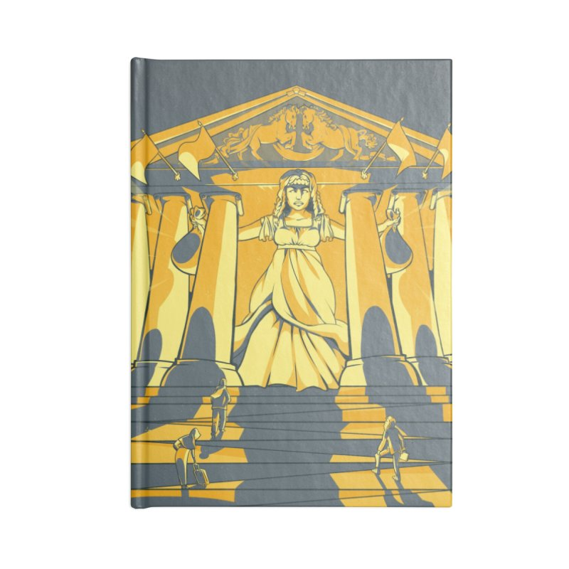 Third National Savings Bank Card Art Accessories Blank Journal Notebook by The Spiffai Shop