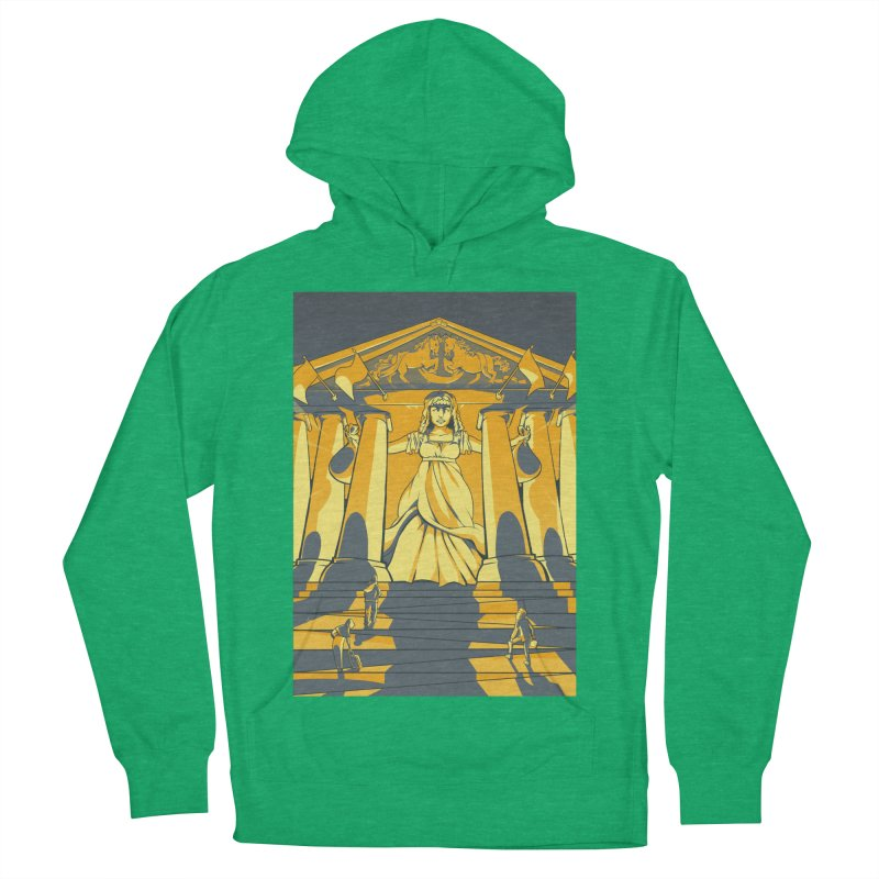 Third National Savings Bank Card Art Men's French Terry Pullover Hoody by The Spiffai Shop