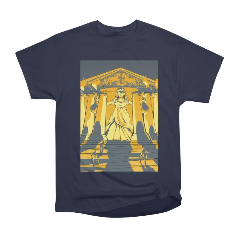 Third National Savings Bank Card Art Women's Heavyweight Unisex T-Shirt by The Spiffai Shop
