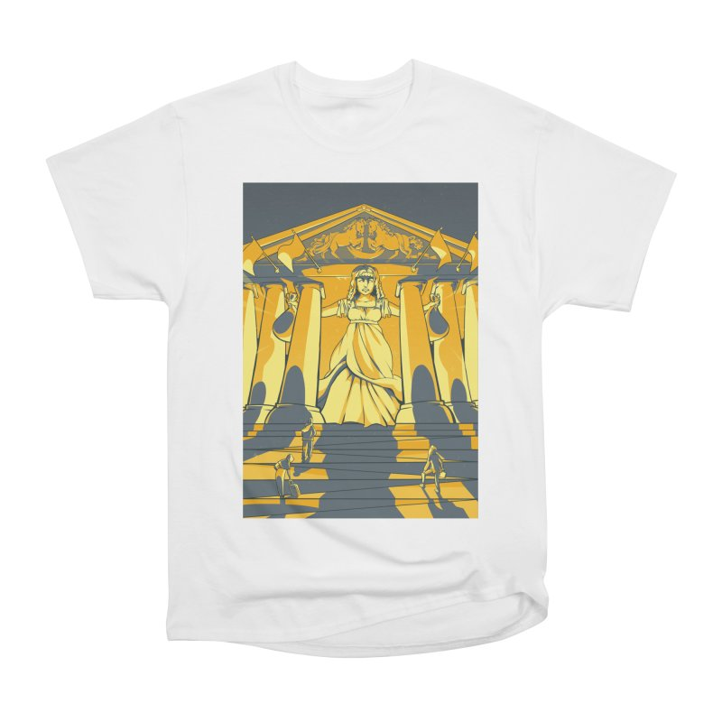 Third National Savings Bank Card Art Women's Heavyweight Unisex T-Shirt by The Spiffai Shop