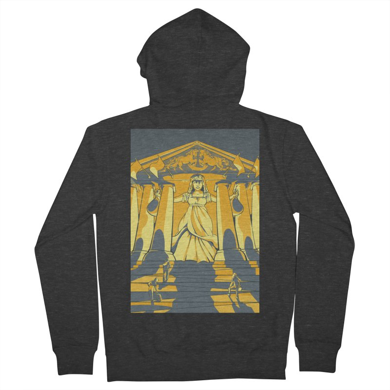 Third National Savings Bank Card Art Men's French Terry Zip-Up Hoody by The Spiffai Shop