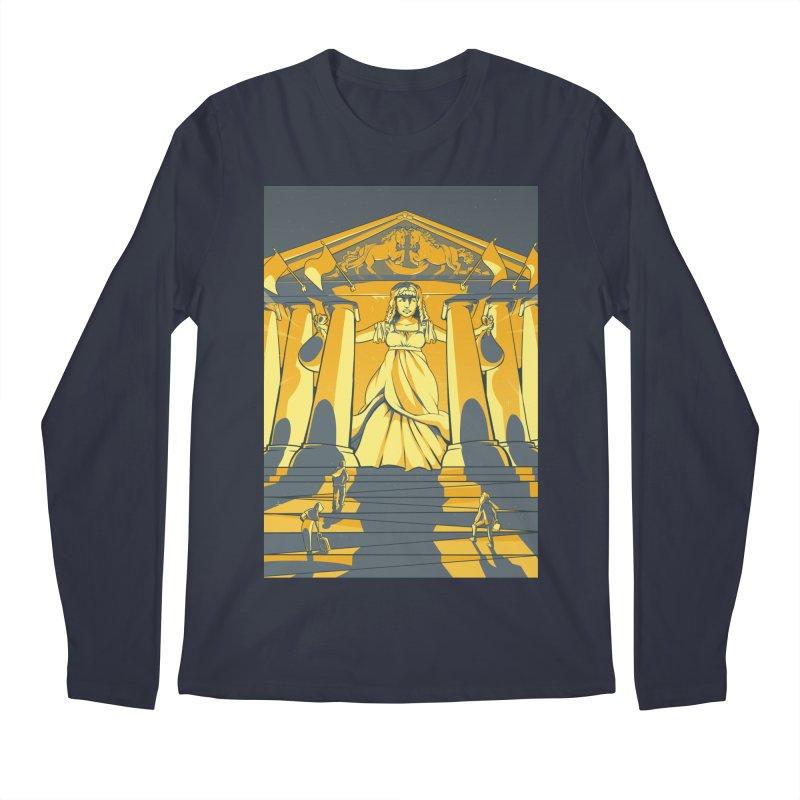 Third National Savings Bank Card Art Men's Regular Longsleeve T-Shirt by The Spiffai Shop