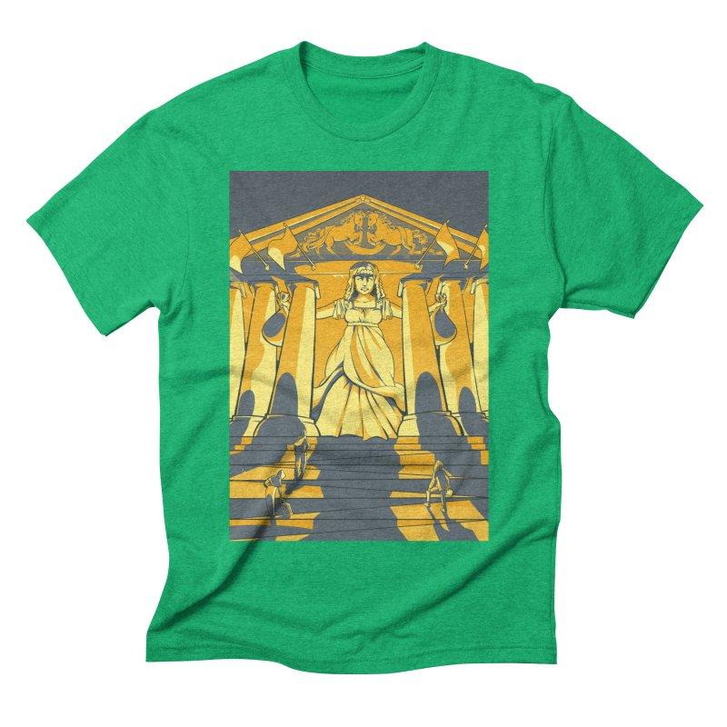 Third National Savings Bank Card Art Men's Triblend T-Shirt by The Spiffai Shop
