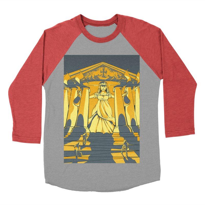 Third National Savings Bank Card Art Men's Baseball Triblend Longsleeve T-Shirt by The Spiffai Shop
