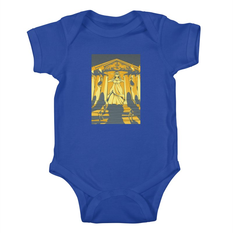 Third National Savings Bank Card Art Kids Baby Bodysuit by The Spiffai Shop
