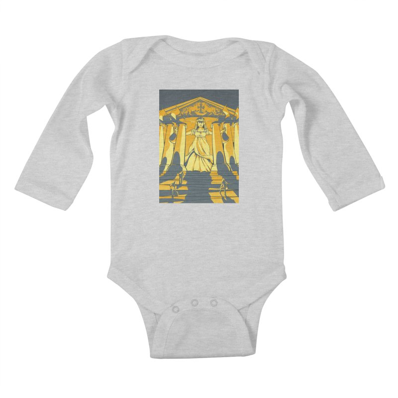 Third National Savings Bank Card Art Kids Baby Longsleeve Bodysuit by The Spiffai Shop