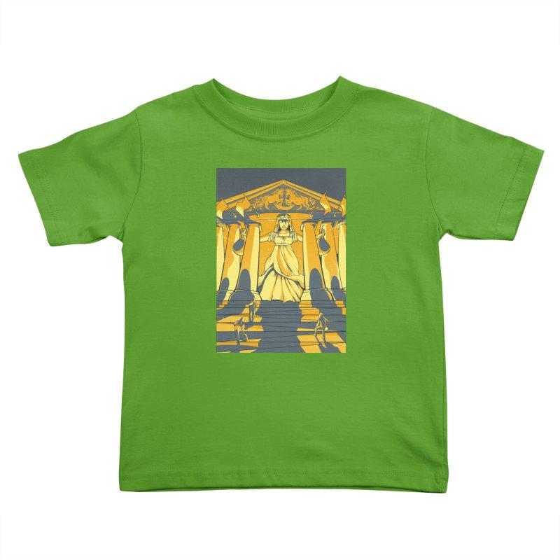 Third National Savings Bank Card Art Kids Toddler T-Shirt by The Spiffai Shop