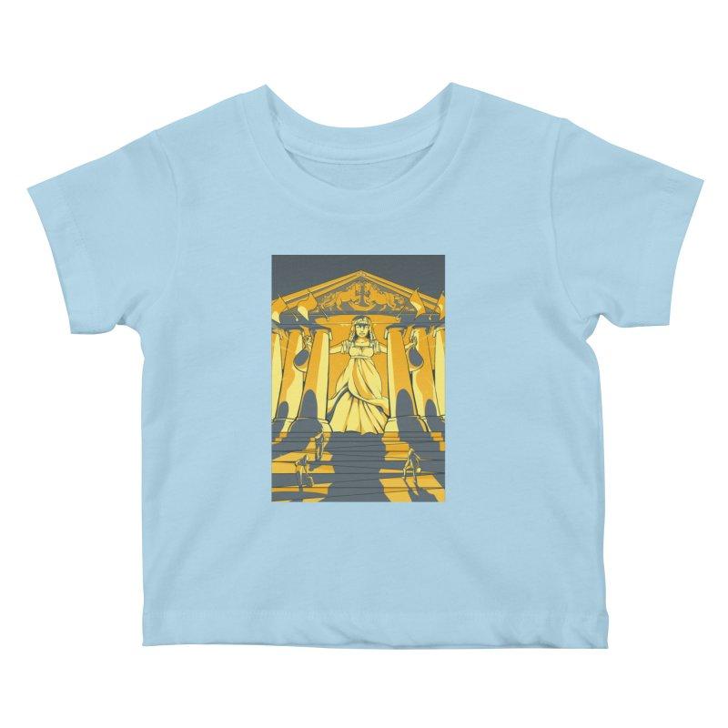 Third National Savings Bank Card Art Kids Baby T-Shirt by The Spiffai Shop