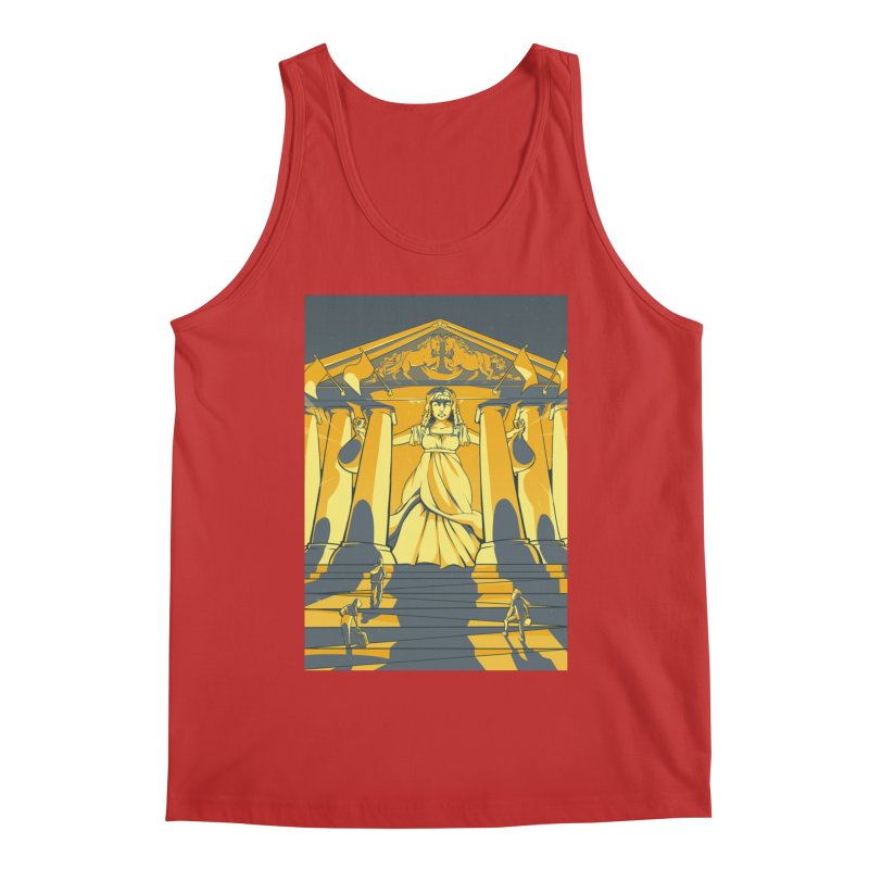 Third National Savings Bank Card Art Men's Regular Tank by The Spiffai Shop