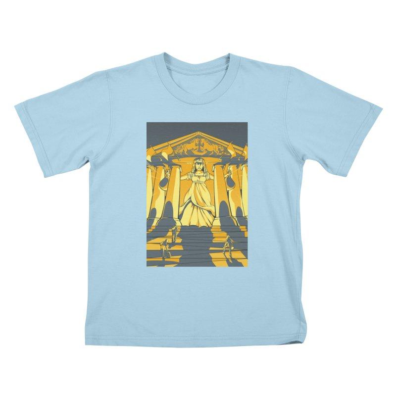 Third National Savings Bank Card Art Kids T-Shirt by The Spiffai Shop