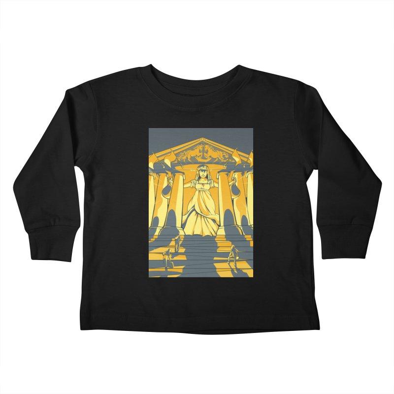 Third National Savings Bank Card Art Kids Toddler Longsleeve T-Shirt by The Spiffai Shop